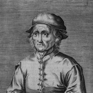 Portrait of Hieronymous Bosch by Edme de Boulonois